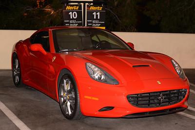 Hertz Ferrari California