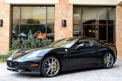 Ferrari California at the Wynn