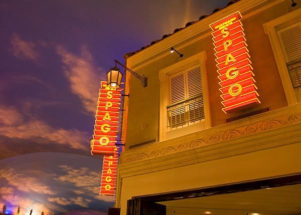 Spago restaurant at Ceasars Palace
