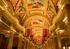 Venetian hotel ceiling