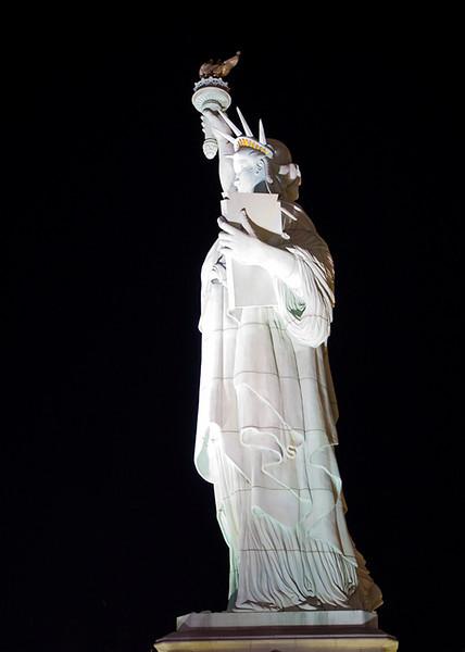 Statue of Liberty at NY/NY