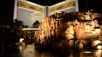 The Volcano at the Mirage