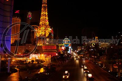The strip. Las Vegas, Nevada.