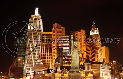 New York New York! Las Vegas, Nevada.