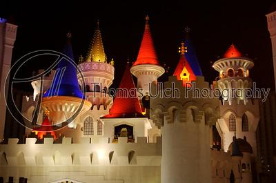 The Vegas Camelot. Las Vegas, Nevada.