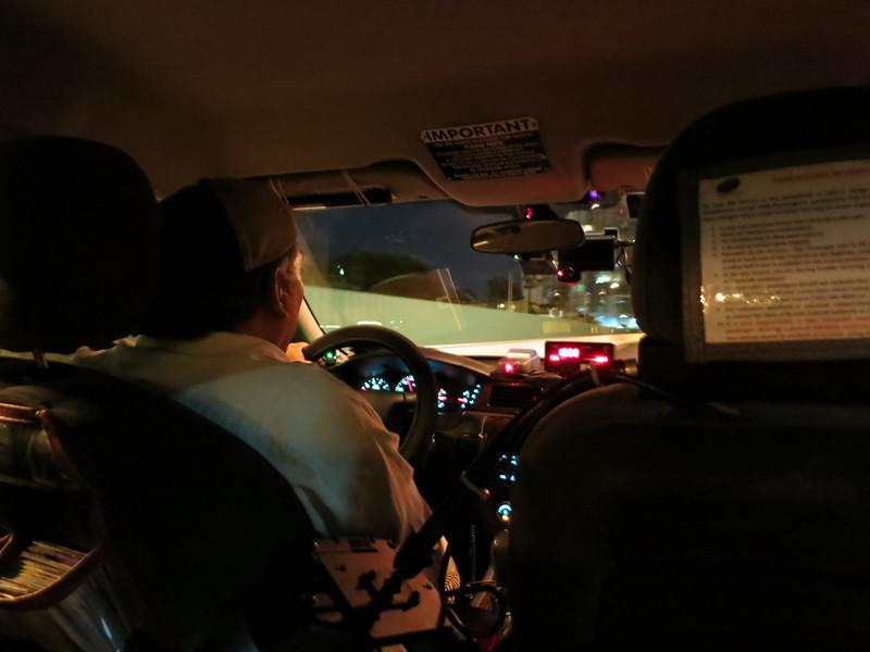 Vegas taxi.