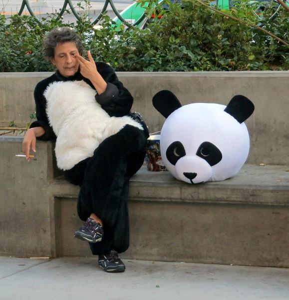 The smoking panda. Again, feel the magic.