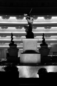 Fountain in Entrance of Caesar's Palace