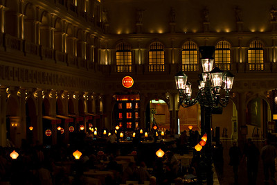 The Venetian Casino; Restaurants Around The Grand Cannal