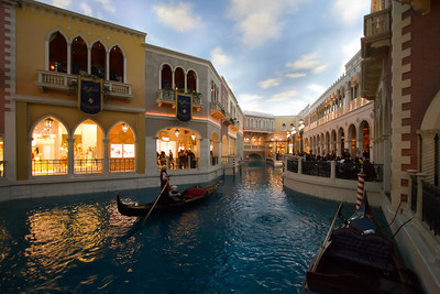 The Grand Canal; Venetian Hotel, Las Vegas