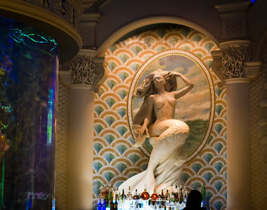 Mermaid Bar in Caesar's Palace