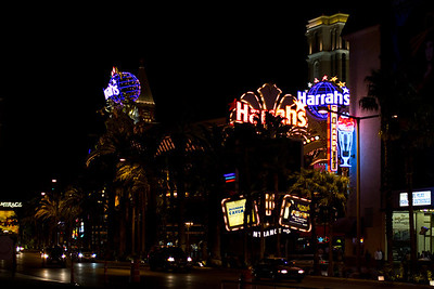 The Strip Outside Harrah's Casino