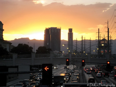 Sunset on The Strip