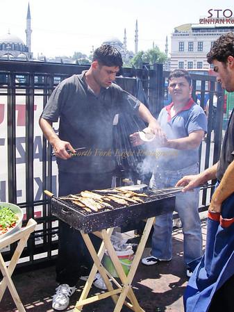 Street food Istanbul, Turkey