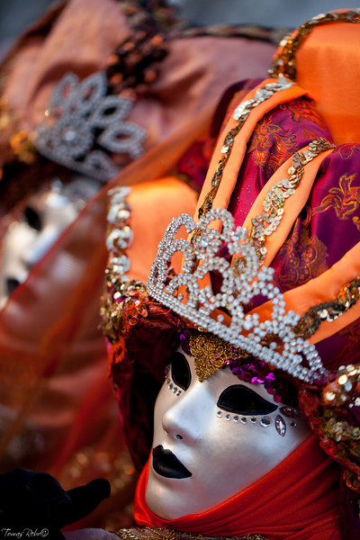 Masks on carnival, Piazza San Marco, Venice, Italy
