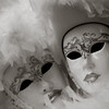 Masks on carnival, Piazzetta, Venice, Italy