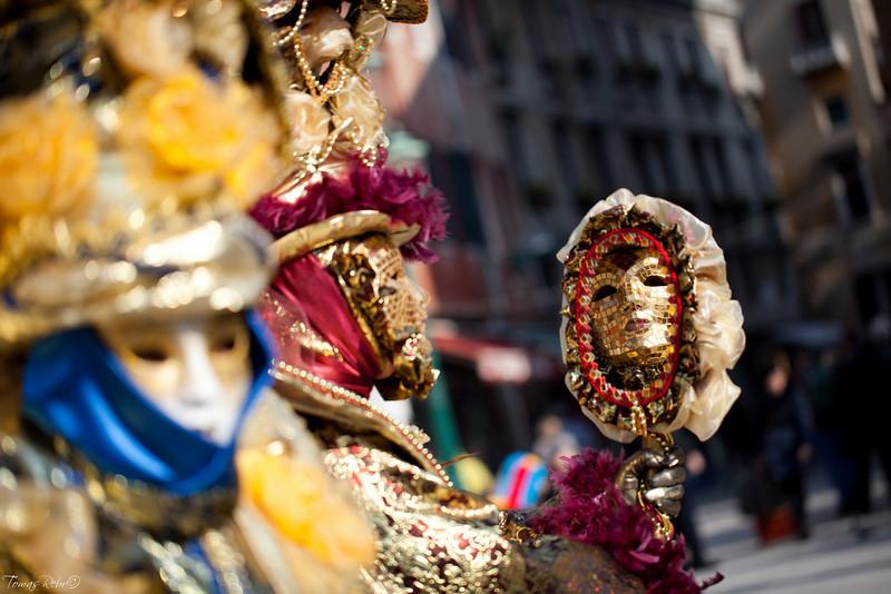 Mask on carnival, Venice, Italy