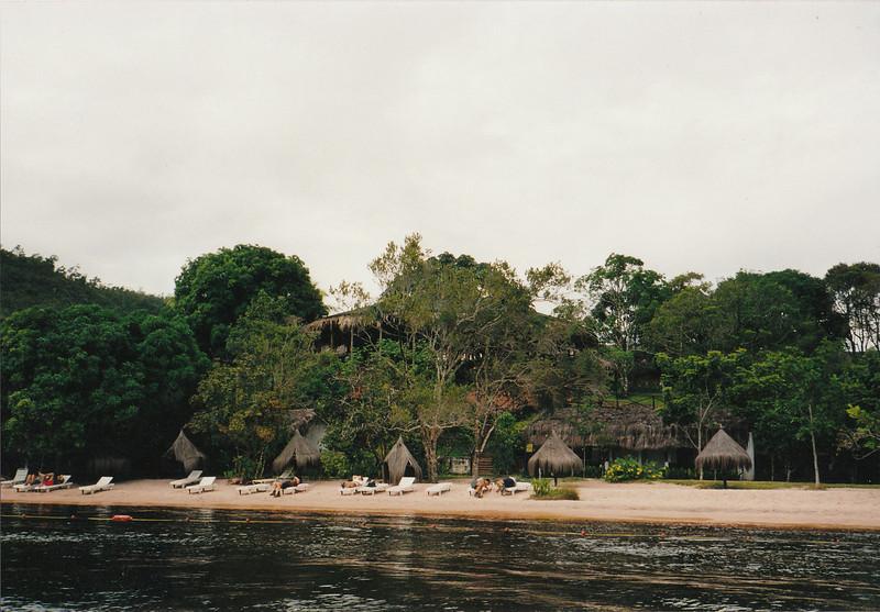 Los guiris en el Parque Nacional de Canaima