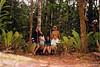 En la selva junto a Eduardo, Juliana y Pau
