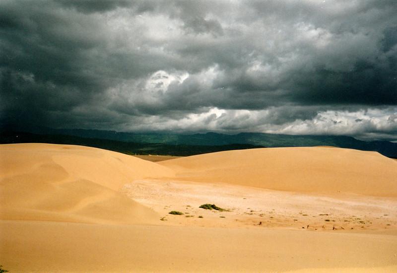 Los médanos, desierto junto a al pueblo de Coro