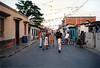 Barrio junto a la costa venezolana donde salen las barcas hacia los Cayos