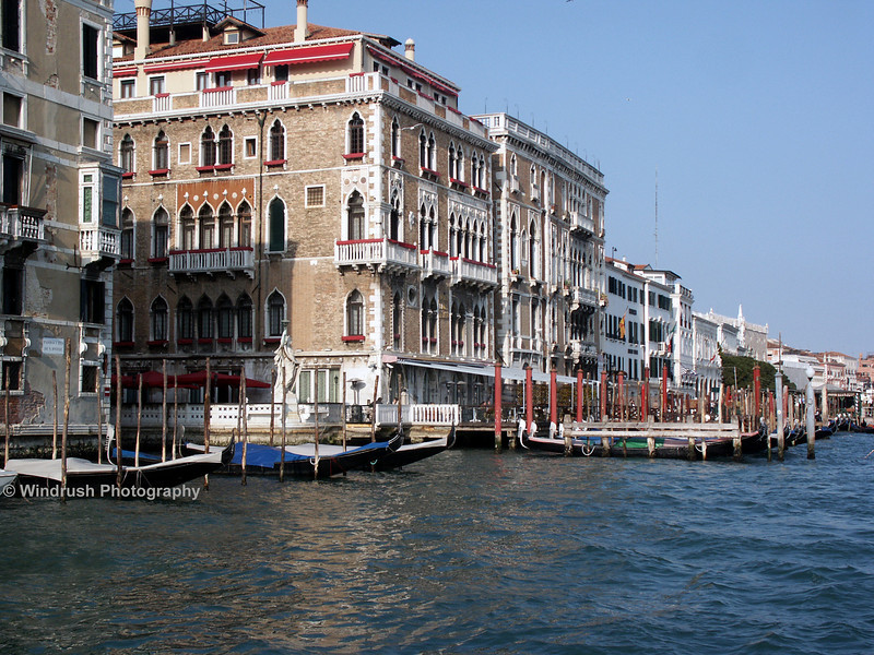 Grand Houses on Grand Canal, Venice