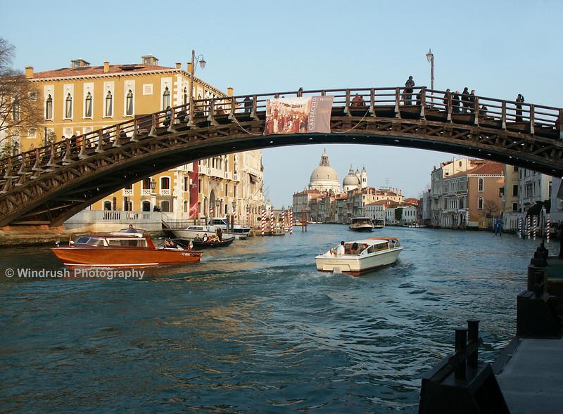 Accademia Bridge over Grand Canal, Venice
