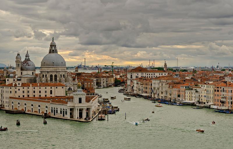 _D7K2137 Evening, Grand Canal, Venice