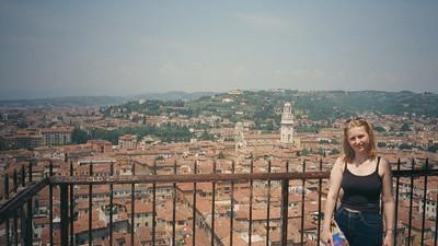 Verona: Torre Dei Lamberti.