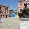 Statue of Galuppi in Burano.