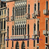 Elegant Venetian Palazzo on the waterfront of the Grand Canal in Venice, Italy
