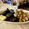 Margaret's mussels and clams at Da Romano