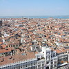 Venice from the bell tower on Piazza San Marco