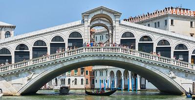 June  13-, 2017- Italy /Switzerland  Milan-Venice-Verona-Lake Como-Lugano trip  Tues 6/13- Venice  Grand Canal /Rialto bridge  Credit: Robert Altman