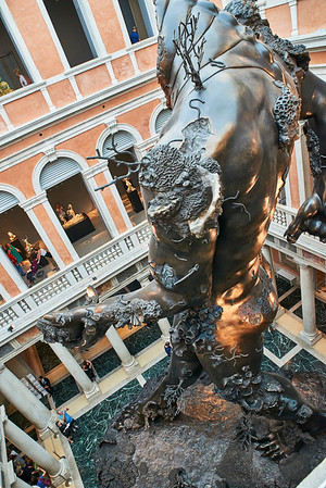 June  14-, 2017- Italy /Switzerland  Milan-Venice-Verona-Lake Como-Lugano trip  Wed 6/14 Venice  Damien Hirst Pallazo Grassi