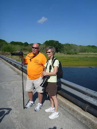 Bob & Melanie at Myakka River State Park