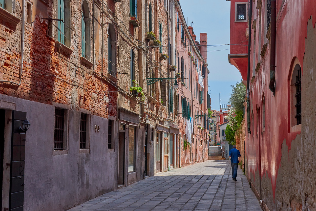 Cannaregio without tourists.... top!!