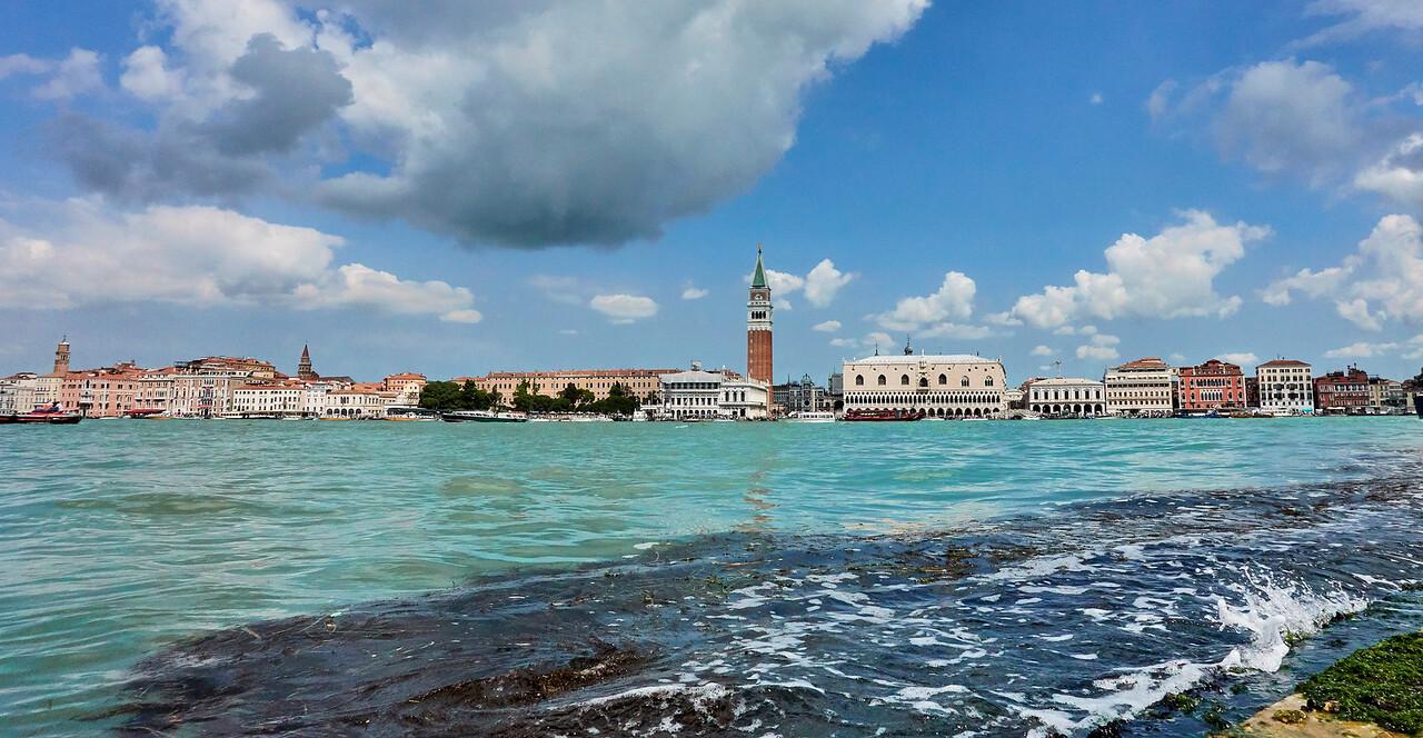 Seen from San Giorgio Maggiore
