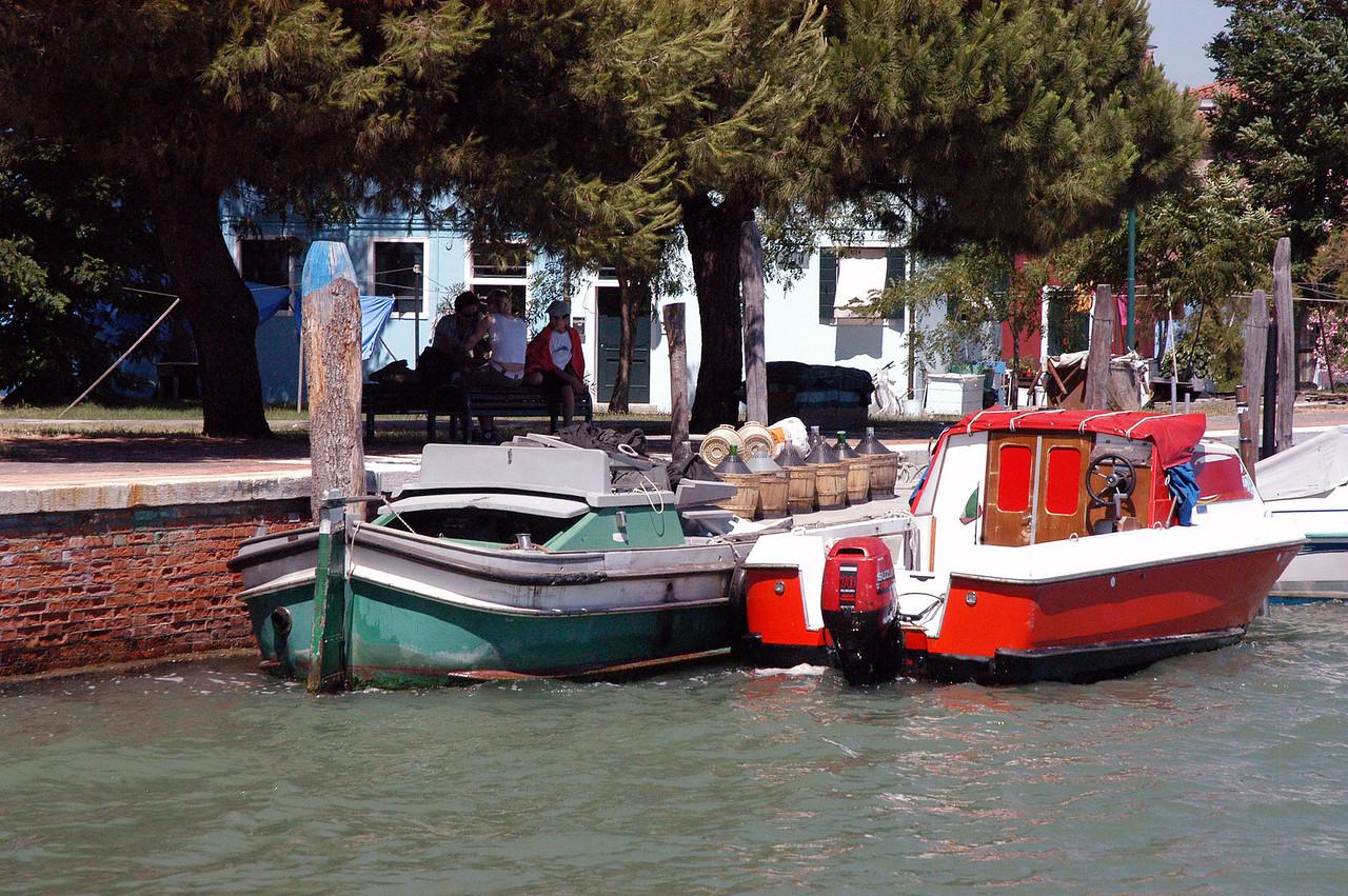 Venice - Burano - Boats1