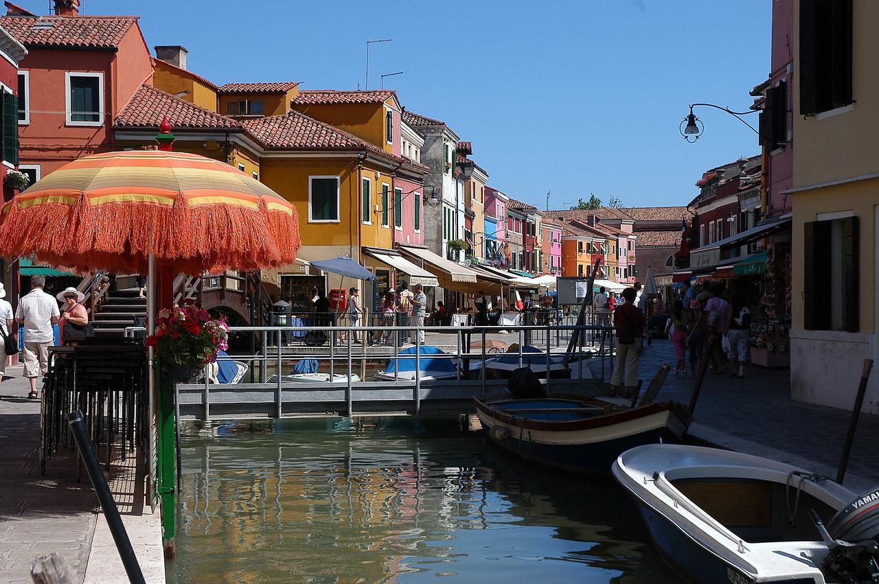 Venice - Burano - Umbrella