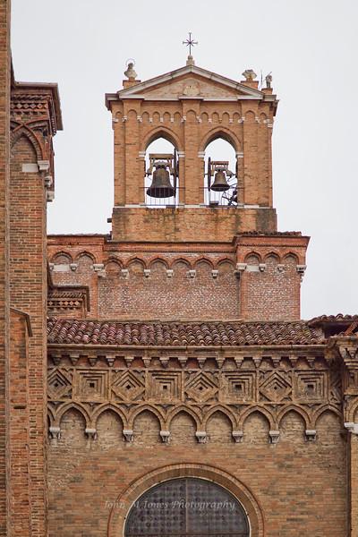 Church bells, Basilica di San Giovanni e Paolo, Venice, Italy