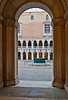 Ornamental well-head in courtyard of Palazzo Ducale or Doge's Palace, Venice, Italy