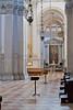 Side aisle of the Basilica di San Giorgio Maggiore, Venice, Italy