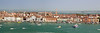 Panorama from the San Giorgio Maggiore bell tower, Venice, Italy