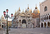Sunrise at Piazza San Marco or St. Mark's Square, world heritage site, Venice, Italy