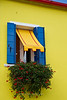 Colorful house in Burano, Venetian lagoon, Italy