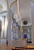 Ascension, an art installation by Anish Kapoor, produces a vortex of rising smoke, Basilica of San Giorgio Maggiore, Venice, Italy