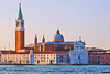 Church of San Giorgio Maggiore at sunrise, Venice, Italy