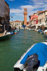 Murano, a town famous for glass making, Venetian Lagoon, Italy