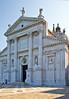 Façade of Basilica di San Giorgio Maggiore, Venice, Italy